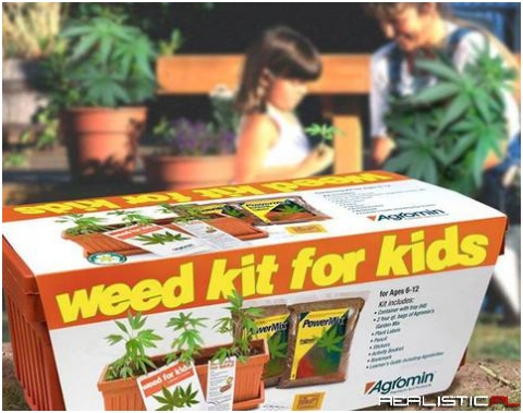 Weed kit for kids